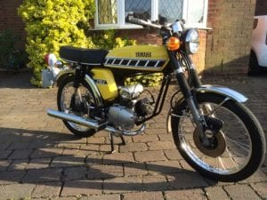 Show Us Yours 1976 Yamaha Fs1 E Dx Classic Motorcycle Mechanics