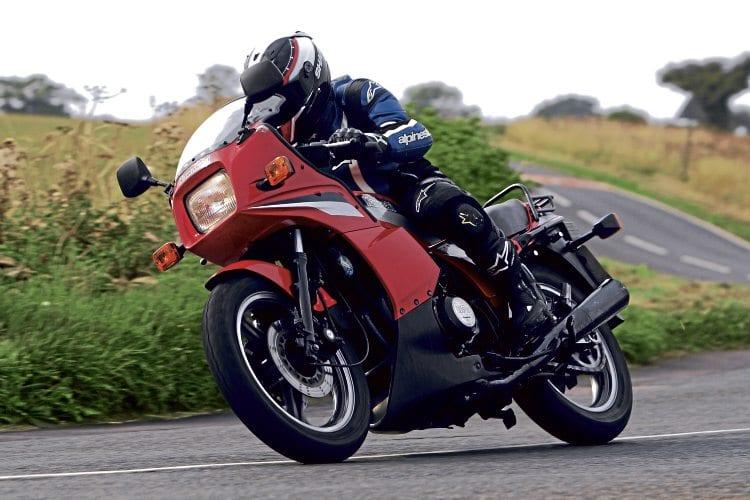 Quick Spins 1984 Kawasaki GPz750 Classic Motorcycle Mechanics