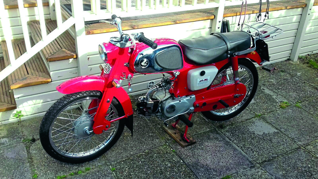 show us yours tony s 1966 honda c110 classic motorcycle. Black Bedroom Furniture Sets. Home Design Ideas