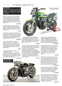 Article downloads - Classic Motorcycle Mechanics