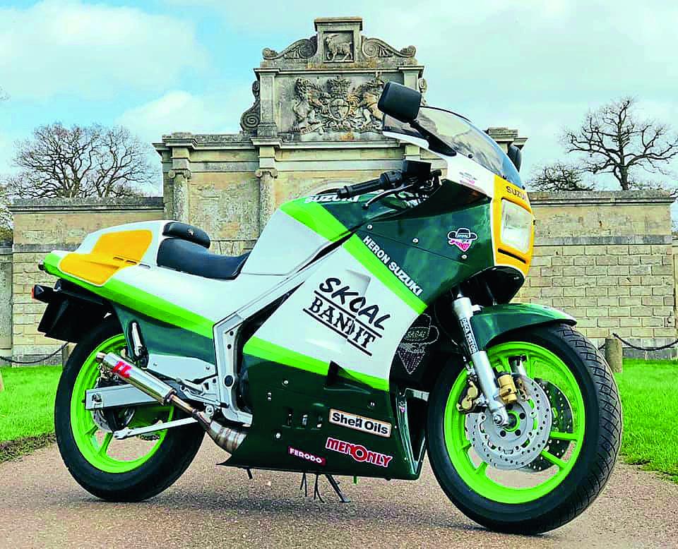 Show Us Yours: Suzuki Gamma RG400 - Classic Motorcycle Mechanics
