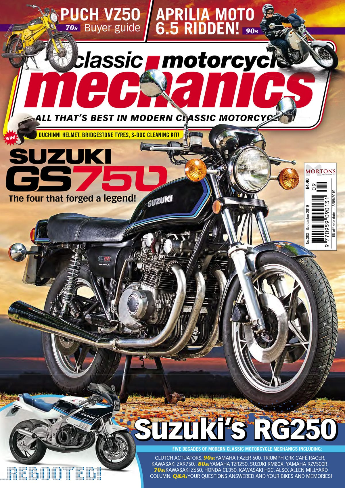 Classic Motorcycle Mechanics September cover