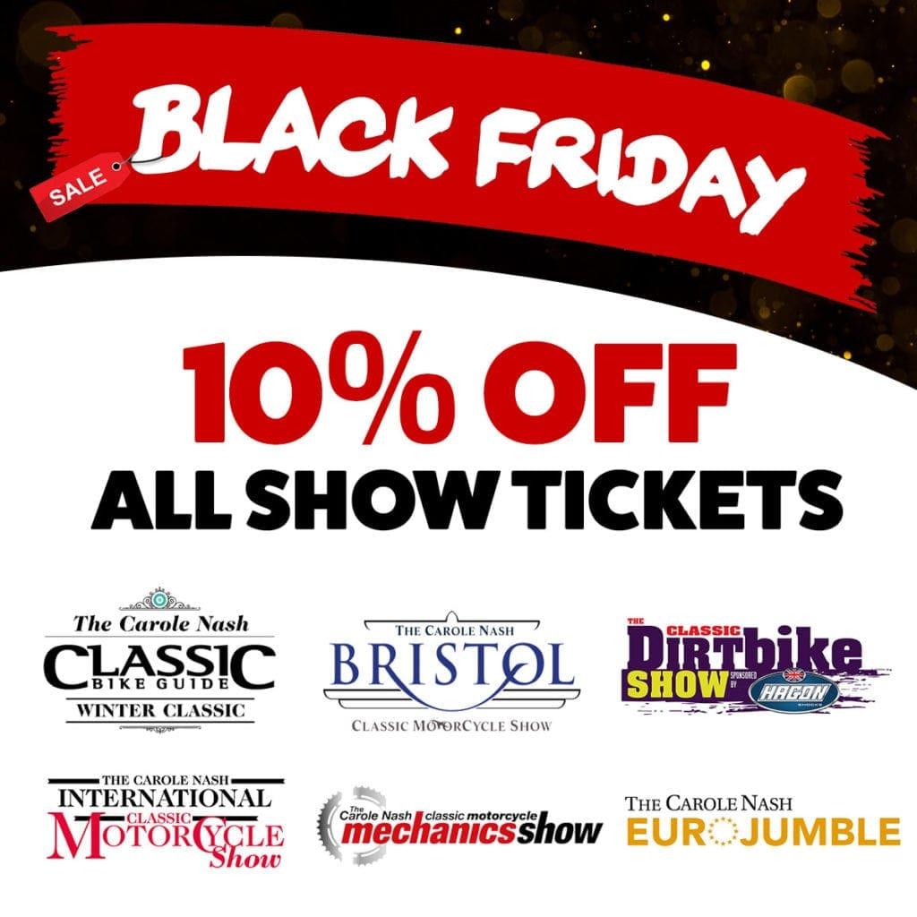 Black Friday Bike show tickets