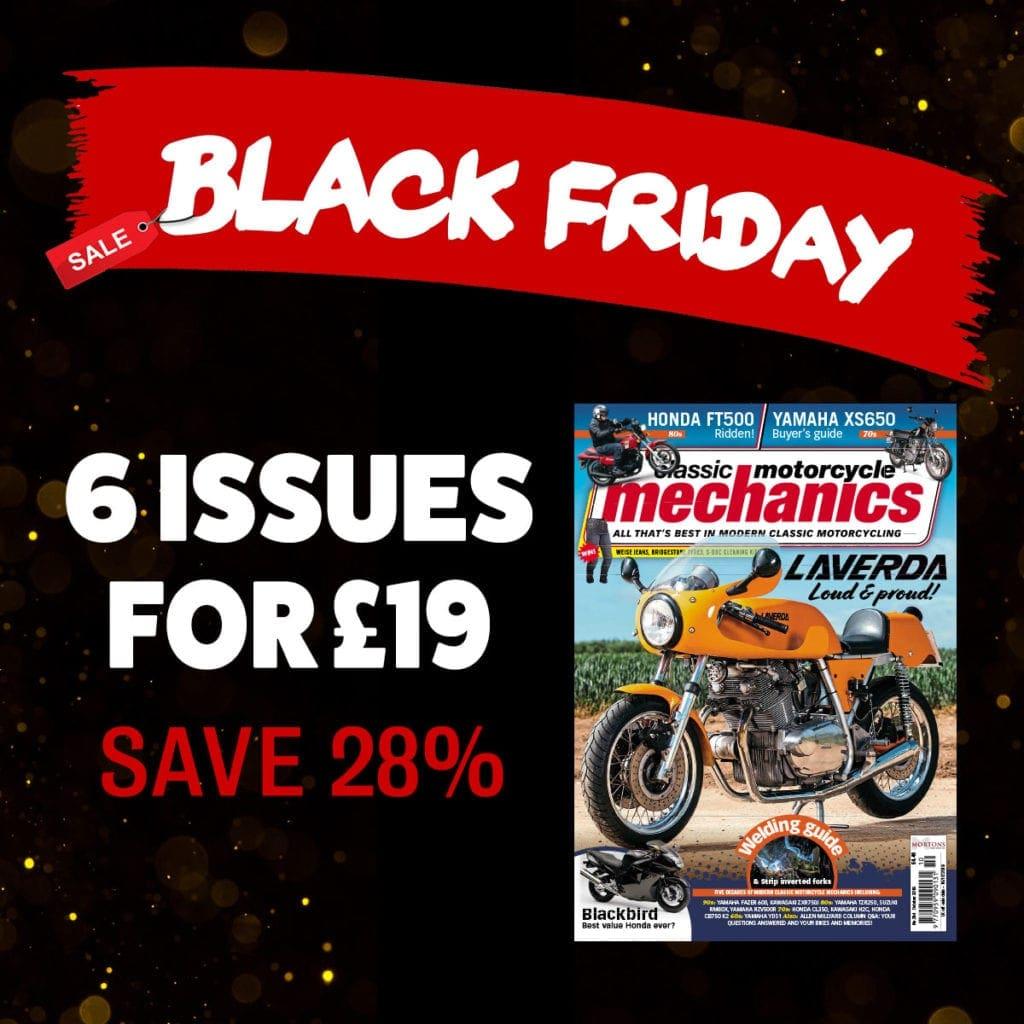 Black Friday Classic Motorcycle Mechanics
