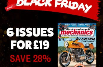 Black Friday Classic Motorcycle Mechanics