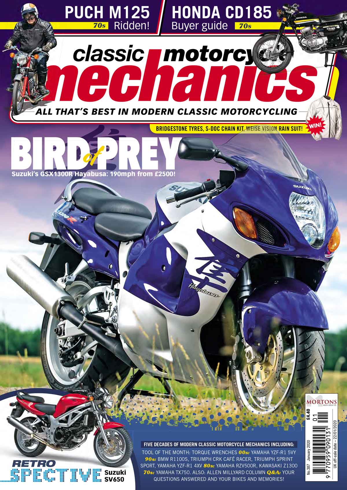 Classic Motorcycle Mechanics cover