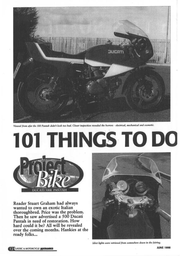 Ducati 500L Pantah