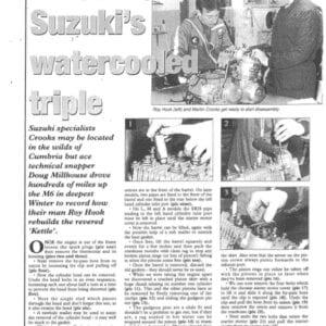 Suzuki GT750 Engine Rebuild
