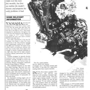 Yamaha XS750 Engine Rebuild